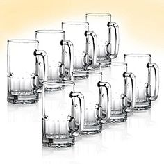 @Overstock - Turn your kitchen into a tavern with beautifully crafted beer mugs. The beverage serving set of eight adds a special touch to parties and gatherings.http://www.overstock.com/Home-Garden/Anchor-Hocking-Premium-Beer-Mugs-Pack-of-8/4061057/product.html?CID=214117 $42.99