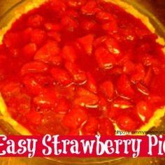 Easy Strawberry Pie by jonbonjovious