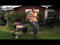 These Weber Grill ads make me smile and want to dance. Love the song and the sneaky looks.