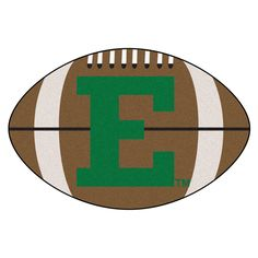 Eastern Michigan Eagles Touchdown Football Area Rug