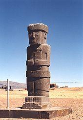 1/ TIWANAKU - Toute la côte du Pérou, Chili, et Hautes Terres. Présence importante d'objets avec dieu au bâton Viracocha. Formes : encensoir et vase keru, un grand gobelet à bords évasés, souvent décoré d'une tête de puma en ronde bosse et utilisé pour les libations. Le décor quant à lui est marqué par une importante polychromie (rouge, bleu, gris, ocre, noir), avec des motifs géométriques (grecques) et figurés (pumas, condors, hommes) inspirés de l'iconographie Nazca.