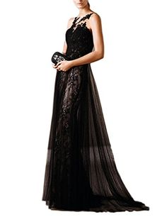 JoJoBridal Womens Long Tulle Prom Dresses Evening Formal Gowns Black Size 14 >>> Want to know more, click on the image-affiliate link. #HomecomingDresses 2017