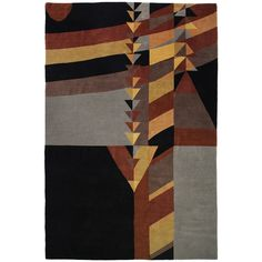 Frank Lloyd Wright Rug   From a unique collection of antique and modern more carpets at https://www.1stdibs.com/furniture/rugs-carpets/area-rugs-carpets/