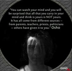 Osho Quotes On Life, New Quotes, Spiritual Quotes, Wisdom Quotes, Spiritual Enlightenment, Spiritual Awakening, Dreams Come True Quotes, Buddha Quotes Inspirational, Awakening Quotes