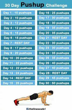 30days push up challenge