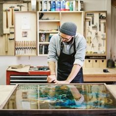 A fascinating behind-the-scenes look into the process and inspiration behind Sean Woolsey's art on sheet metal.