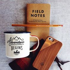For what's yet to be discovered... #shoppigment #fieldnotes #theadventurebegins #giftideas   ShopPigment