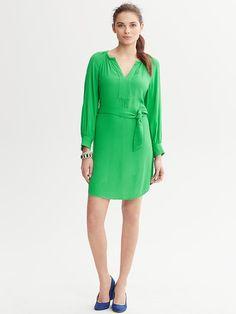 Banana Republic | Belted Shirttail Dress