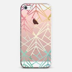 Casetify iPhone SE Classic Snap Case - Geometric Lines by Hazel #iphonese,