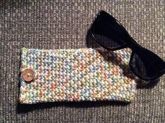 Handmade Crochet Eyeglass Case    https://www.etsy.com/listing/239979812/eyeglass-case-eyeglass-pouch-crochet