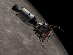 Apollo 11 in orbit
