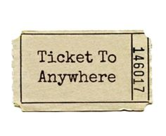 Ticket to anywhere. Here's your ticket. L Wallpaper, Wallpaper Animes, Kunstjournal Inspiration, Accessoires Iphone, Tumblr Stickers, Photocollage, Journal Stickers, Aesthetic Stickers, Pics Art