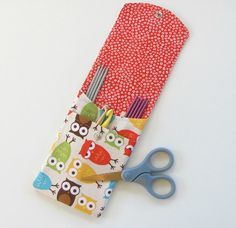Knitting Needle Case Knitting Supplies Crochet by OvationStudio                                                                                                                                                                                 More