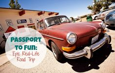 """Passport to Fun - Epic Real-Life Road Trip Travel is an integral part of our family's life, even with an extremely limited budget. Each month, we """"visit"""" a different country to explore all that it has to offer , but this past summer, we hit the road and experienced new locales in person, instead!"""