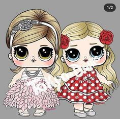 Lol Dolls, Cool Art Drawings, Disney Characters, Fictional Characters, Templates, Disney Princess, Biscuit, Tokyo, Anime