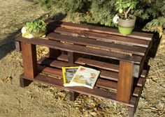 Repurposed pallet table for sale ~ $35 call/text Jon 916-599-0792 Sacramento area Pallet Furniture For Sale, Deck Furniture, Square Side Table, Side Tables, Homemade Tables, Sacramento, Repurposed, Diy, Home Decor