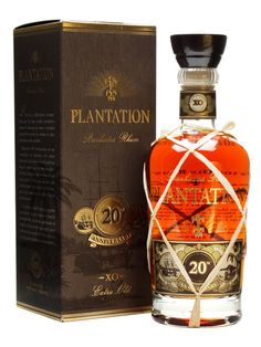 Plantation Extra Old Barbados Rum / 20th Anniversary : The Whisky Exchange