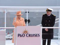 Queen Elizabeth II's 91 years, in a cruise lover's eye
