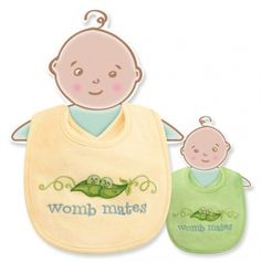 Womb Mates Bib Set of 2
