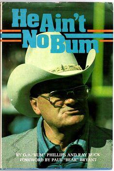 Football Coaches, Football Stuff, Bum Phillips, Eddie George, Remember The Titans, Houston Oilers, Fun Time, Good Times, Coaching
