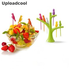 Uploadcool _ Kitchen accessories Cooking Gadgets Fruit Vegetable tools eco fashion fork set  new hot sale sign special offer //Price: $9.95 & FREE Shipping //