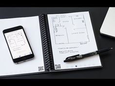 The Rocketbook Reusable Notebook syncs your handwritten notes to the cloud using a phone app. Then erase your notes with a zap in the microwave. Cool Technology, Technology Gadgets, Homemade Cleaning Supplies, Book Report Templates, And So It Begins, Teaching History, Fresh Start, Inspirational Gifts, Cool Items