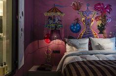 Aménagement intérieur et déco sur le thème cirque: idées de 25 hours Hotel