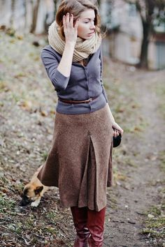 Autumn walk outfit