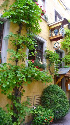 Romantic old inn, Meersburg