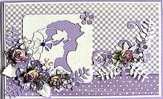 Click to Enlarge Elegant Lady, Marianne Design, Creative Cards, Card Ideas, Birthday Cards, Projects To Try, Stamp, Inspired, Female