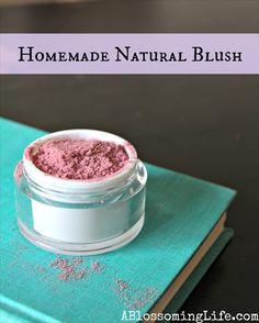 Homemade All-Natural Blush (Recipe)