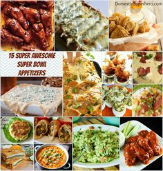 15 Super Awesome Super Bowl Appetizers!