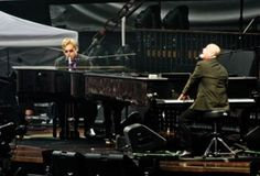 elton john & billy joel.