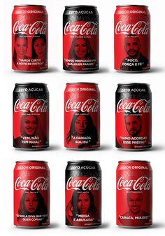 6d511498e Coca-Cola lança embalagens com rostos de cantores brasileiros