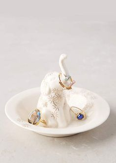 Anthropologie Engagement Ring Dish | Brides.com