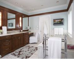 Luxury Master Bath Contractor - Sarah Blank Design Studios Offers Luxury Master Bath Design In Stamford CT, Palm Beach FL & The Surrounding Areas. Pelham Manor, Palm Beach Fl, Design Studio, Luxury Kitchens, Bath Design, Kitchen And Bath, Master Bath, Mirror, Interior Design