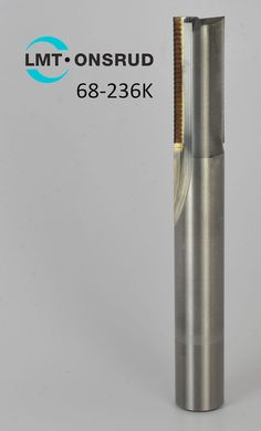 """68-236K Onsrud 1/2"""" Double Flute Solid Carbide PCD SERF Cutter for #Composites #OnsrudCutter  #manufacturing #aerospace"""