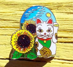 Image result for china cat sunflower pin