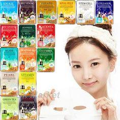 Facial Mask Skin Care Face Sheet Pack Essence Collagen Moisture Korea Makeup #Malie