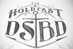 Hold Fast by Nicholas D'Amico, via Behance
