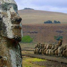 Easter Island Easter Island Moai, Civilization, Chile, Countries, Destinations, Spaces, Amazing, Travel, Viajes