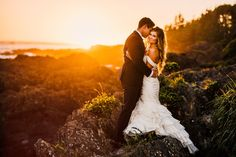 This Vancouver Island wedding is full of breathtaking coastal vibes, airy textures, and romantic details | Image by Ryan Flynn Photography