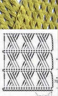 Agora além do gráfico complicado, temos também um PAP. … Continue lendoPonto de crochê