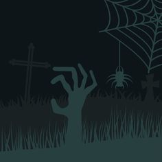 Zombie hands vector silhouettes by Vector-Stock on @graphicsmag
