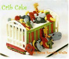"""Hush Little Baby"" Crib Cake Instructions"