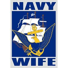 Proud to be a navy wife  navy wife | ... - Navy >> US Navy Relative & Service Pride >> U.S. Navy Wife Decal