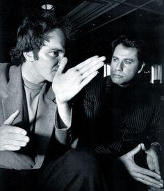 Tarantino and Travolta.