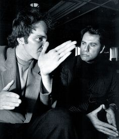 Tarantino and Travolta.
