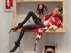 """Анна Гущина. Питер (""""Арлекин"""") Куклы ручной работы (2012 VIII салон на Тишинке)"""
