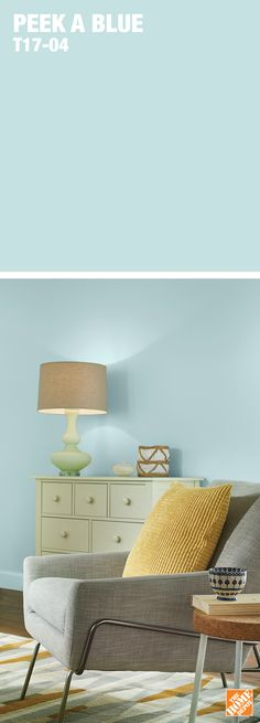 This fresh and youthful blue is one of Behr's most popular 2017 Colour Trends. Learn more at HomeDepot.ca: http://hdepot.ca/2tnNsVJ